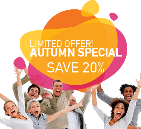 Autumn Special Limited Offer!
