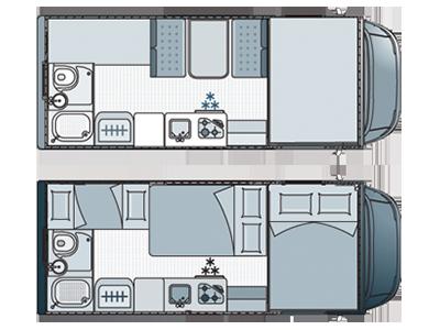 Kühlschrank Aufbau Innen : Wohnmobil mieten in griechenland wohnmobil flotte camper club