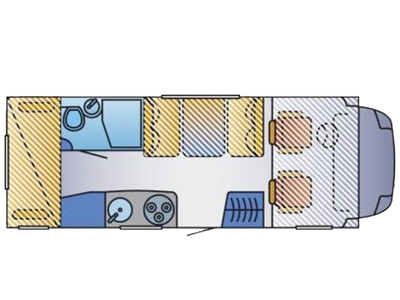 Family Hymer 622 Layout
